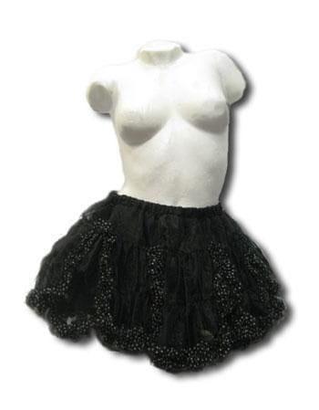 Dot miniskirt