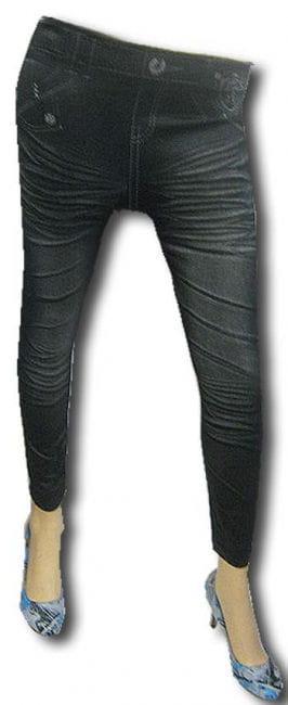 Leggings Jeans Look