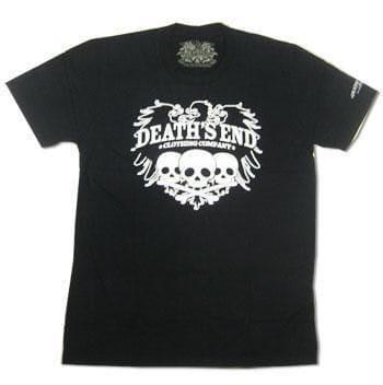 Three Skulls T Shirt Size L