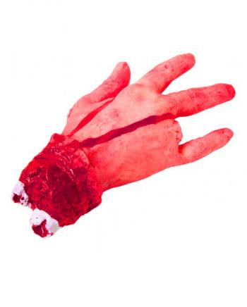 Abgetrennte rechte Hand
