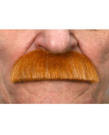 Mustache Albert Einstein heather red