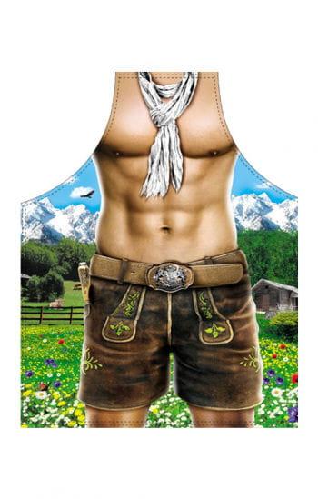 Sexy Alpenboy motif apron