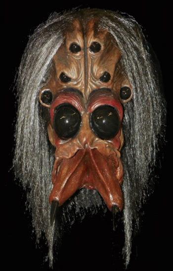 Arachnoid horror mask