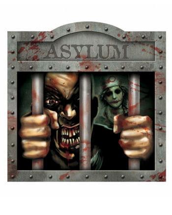 Asylum Schild