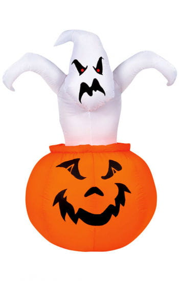 Inflatable Pumpkin Ghost