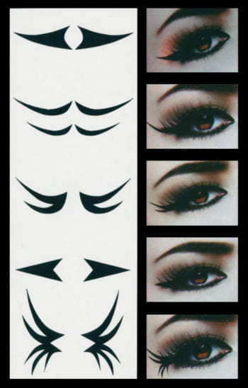 Eyeliner Extensions Eye Tattoo Classic Style
