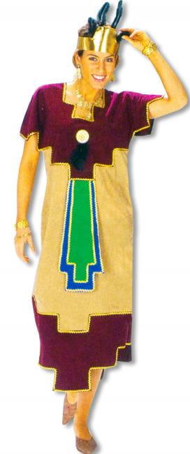 Azteken Königin Kostüm