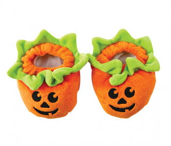 Baby Pumpkin Shoes