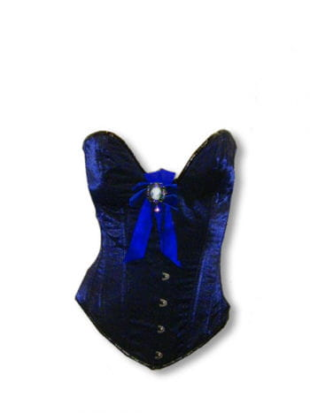 Barock Korsett blau