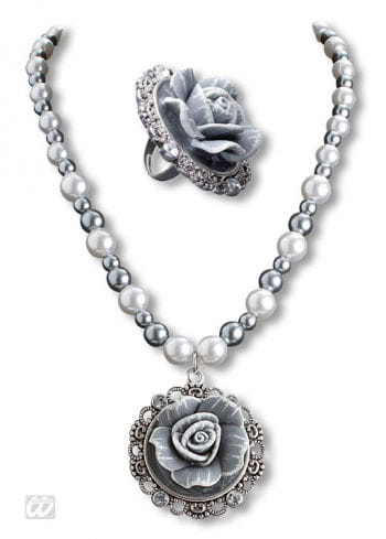Baroque Pearl Necklace and Ring