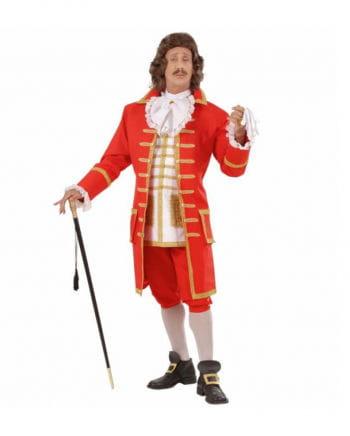 Baroque costume for men Deluxe XL