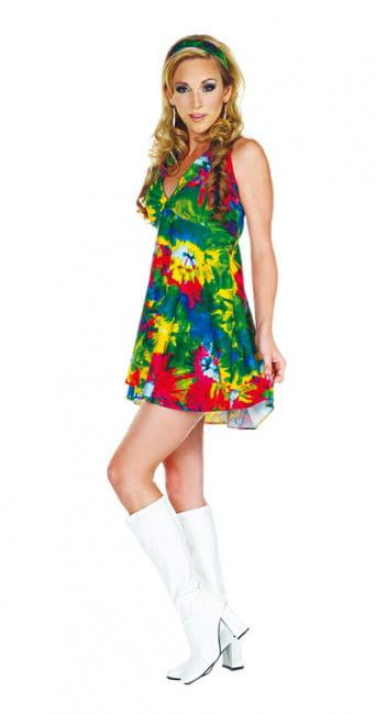Batik Hippie Minidress