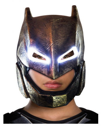 Batman Kindermaske mit LED Effekt