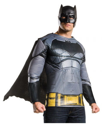 Batman muscle shirt with cape and mask