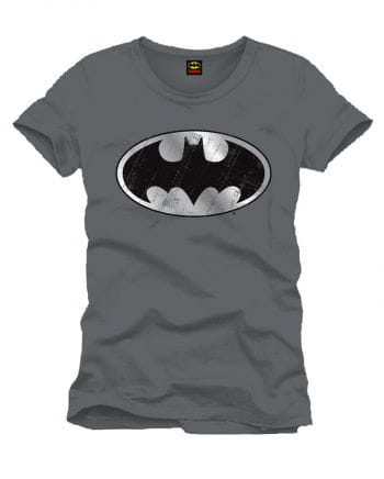 Batman T-shirt Silver Logo