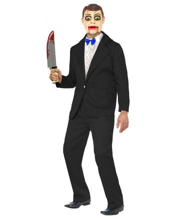 Bauchrednerpuppe Kostüm