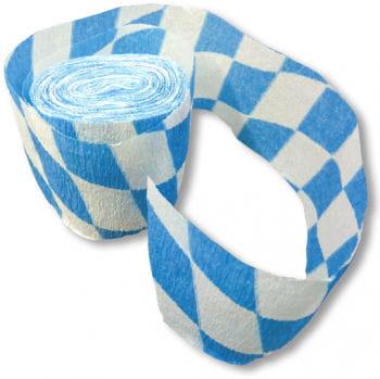 Bavaria Crepe Paper Streamer 6 cm