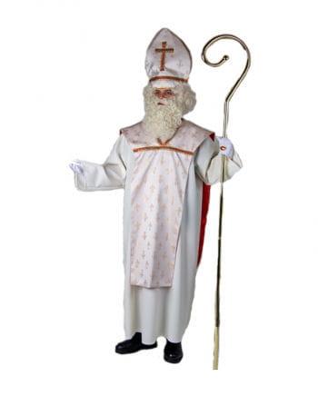 Bischofs Kostüm cremefarben