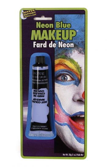 Neon Make Up blau