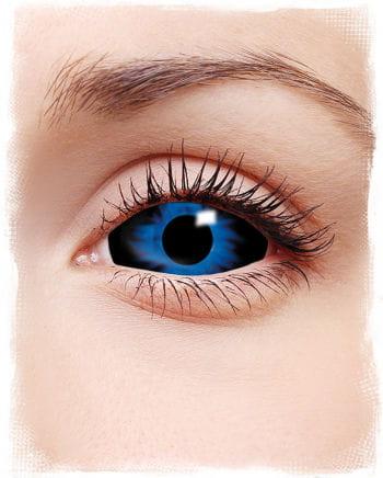 Sclera contact lenses dark blue