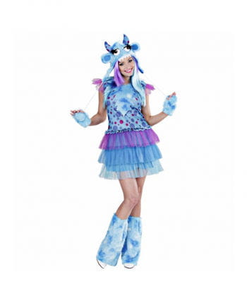 Monster Girl Kostüm blau