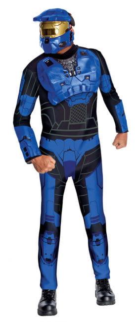 Blue Spartan Costume