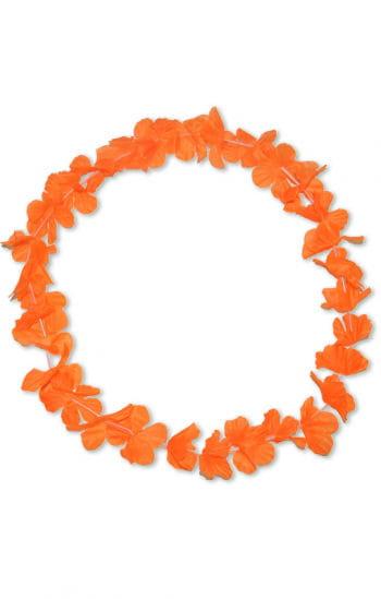Flower necklace orange