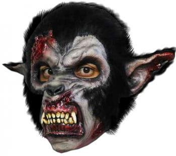 Blutige Night Wolf Werwolf Maske