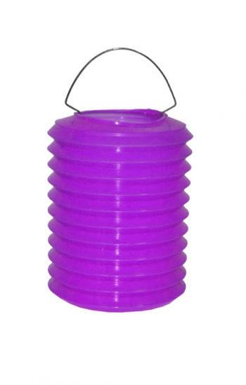 Bunte Laternen aus Kunststoff violett