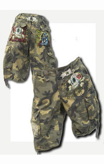 Camouflage Short Gr.34