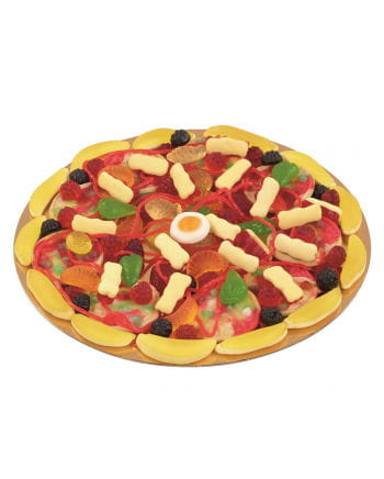 Candy Pizza mit Fruchtgummi
