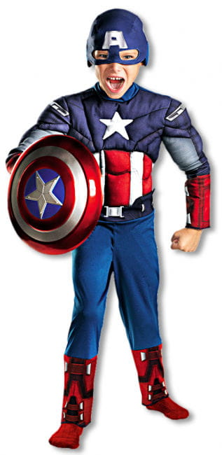 Captain America Child Costume