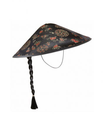 Chinese Hat with Pigtail