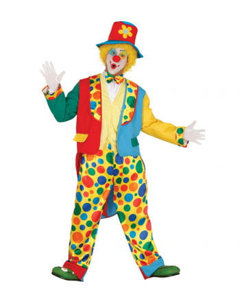 Clown Costume With Frack & Hat