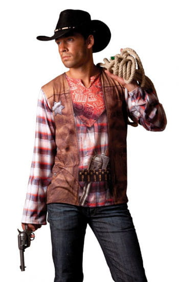 Cowboy Illusion T-shirt