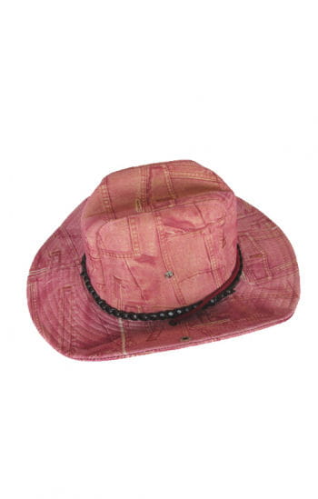 Cowgirl Hut Jeanslook pink