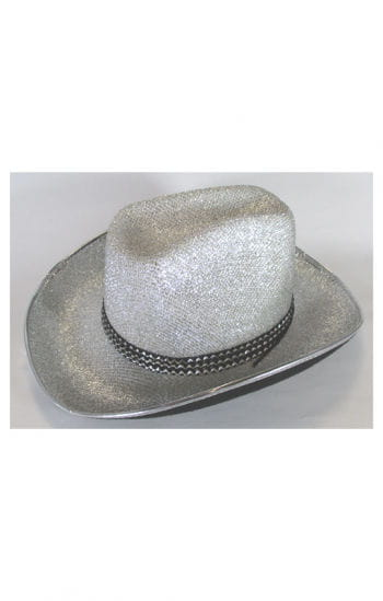 Cowgirl Hat Silver