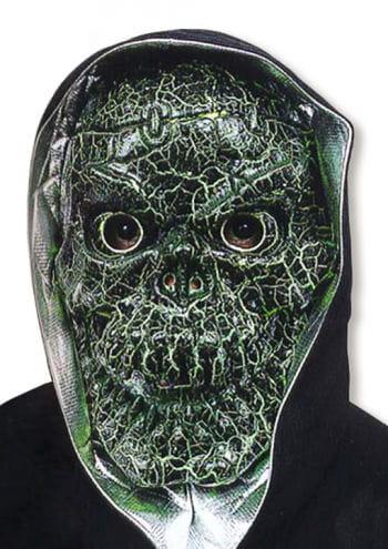 Crakled Skull Maske Grün