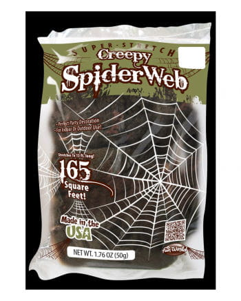 Creepy Spinnennetz Deko 50g