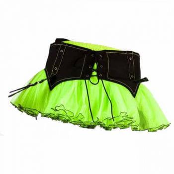 Cyber ??miniskirt green