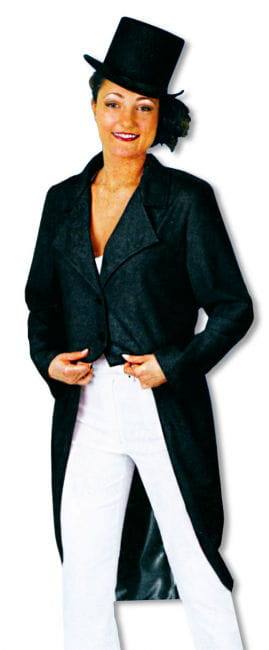 Ladies Tailcoat Black XXL /44