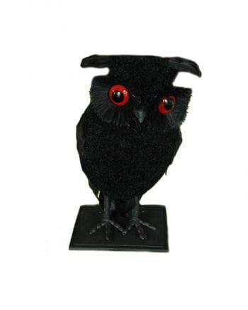 Deco black owl