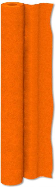 Crepe Paper Roll Orange 50 cm