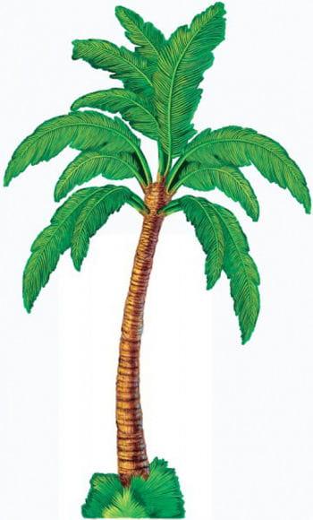 Palmen Dekoration aus Pappe