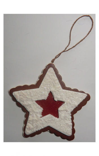 Decorative Cut-Out Cookie Star