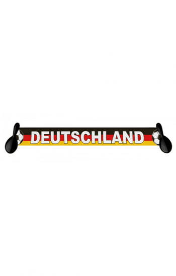 Germany scarf with Samba rattles