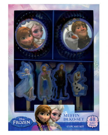Disney Frozen Muffin Set 48 tlg.