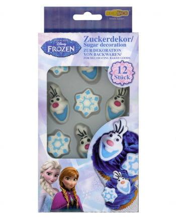 Disney Frozen Zuckerdekor 12 St.