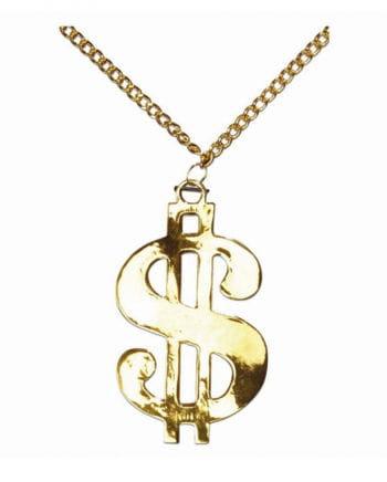 Dollarzeichen Halskette