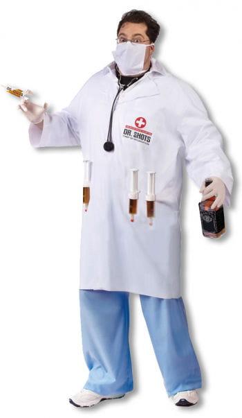 Dr. Shots Doctor Costume Plus Size